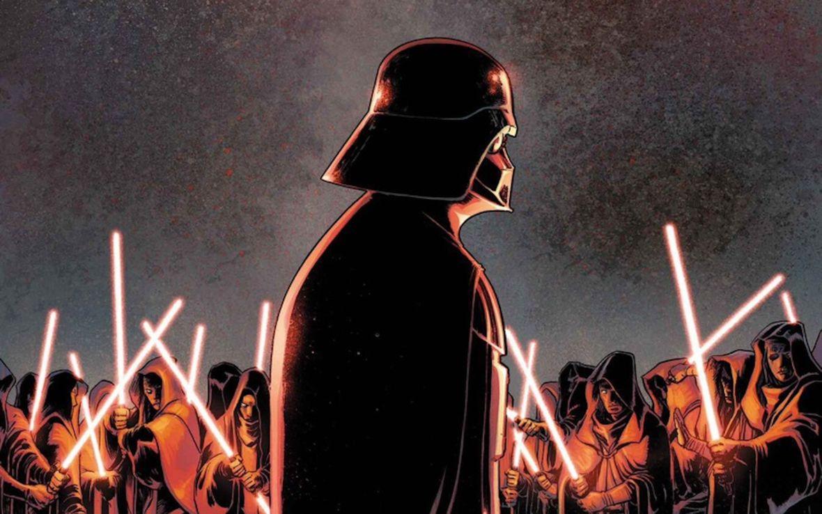 """Disney naprawia """"Gwiezdne wojny"""", lepiąc je gumą do żucia. Okazuje się, że Vader mógł znać tajny plan imperatora"""