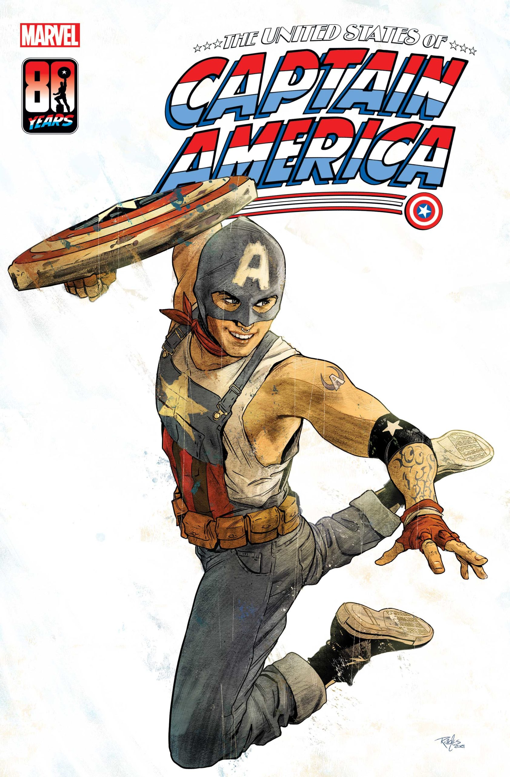kapitan ameryka gej lgbt marvel komiks united states of captain america cover