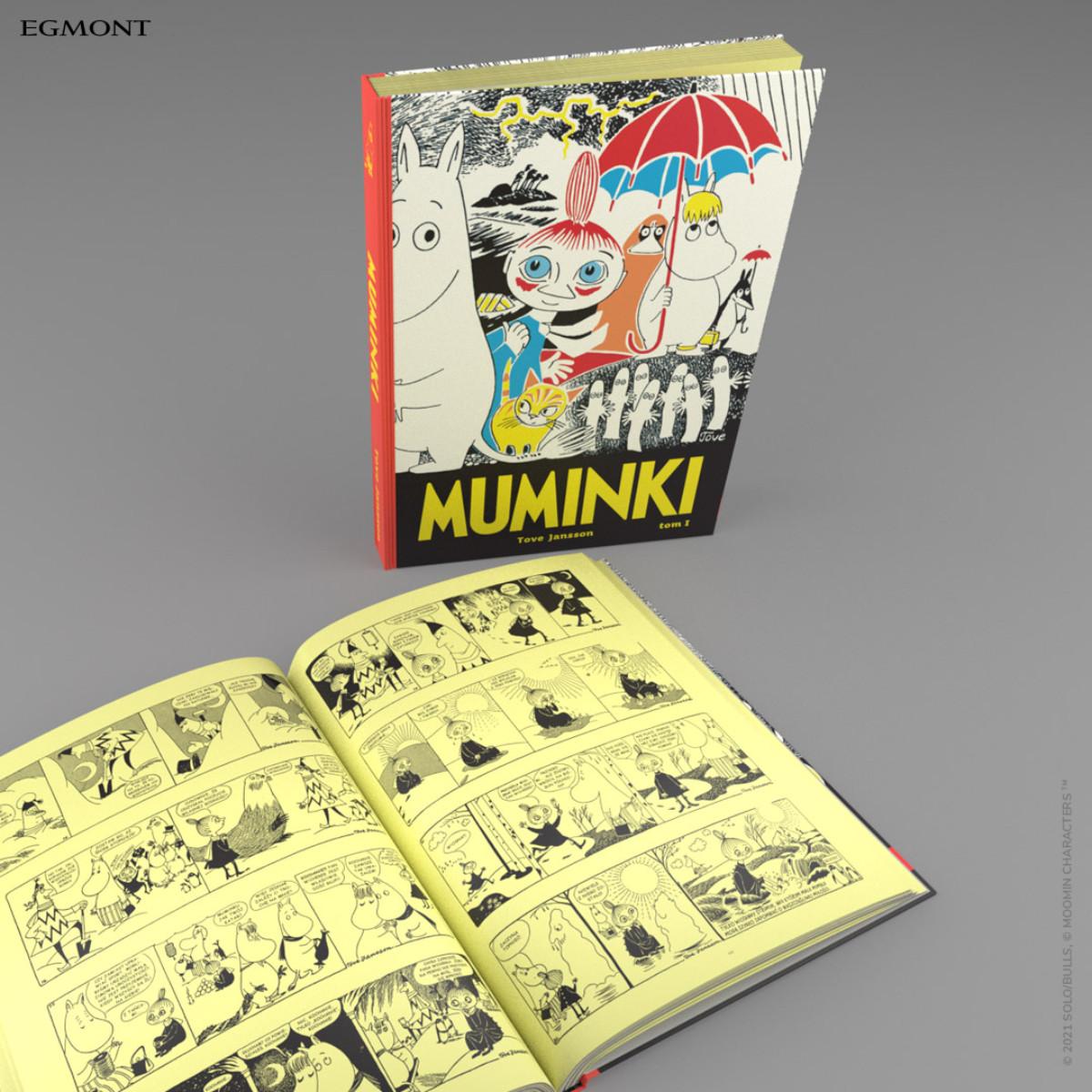 muminki komiks