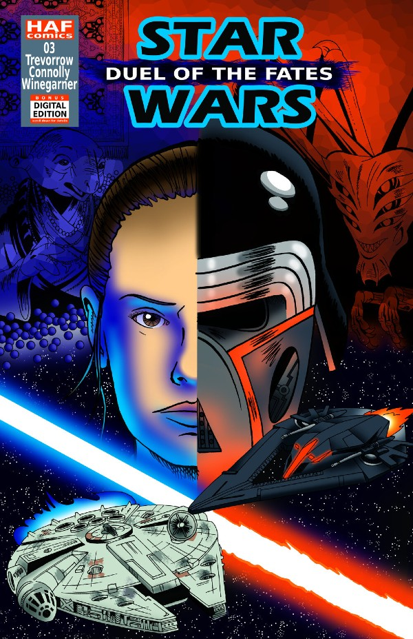 Okładka komiksu Star Wars Duel of the Fates