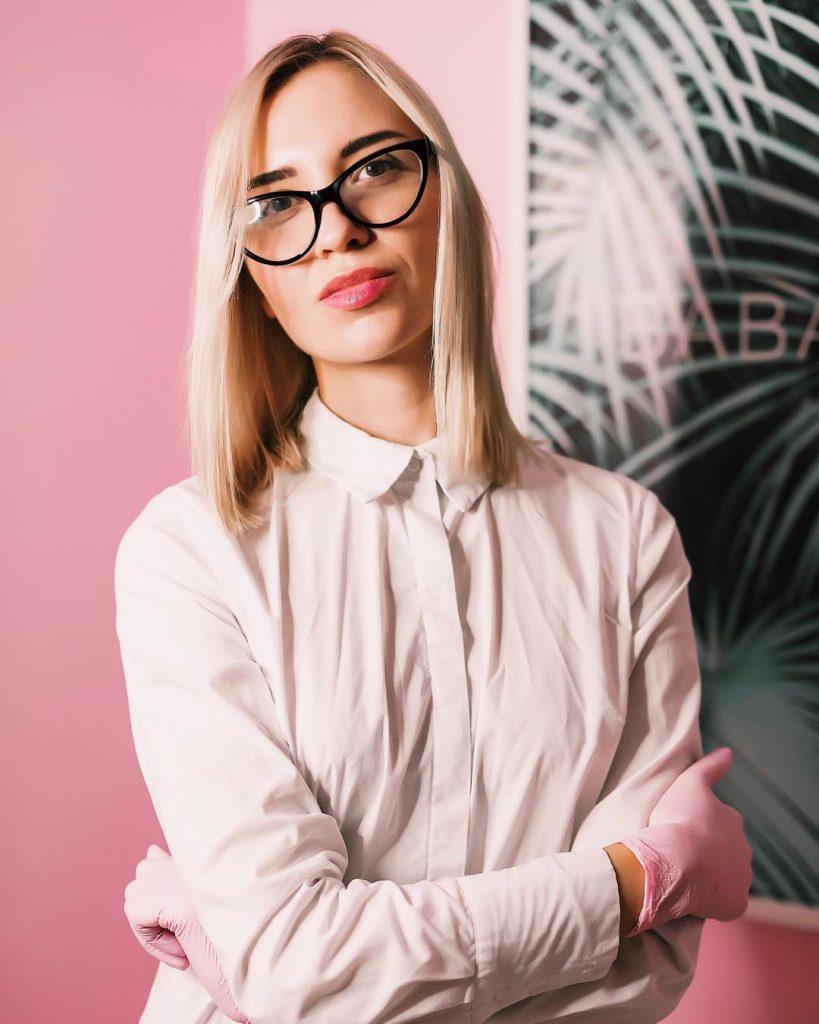 Катерина Пушкарьова, власниця салонів Babalab
