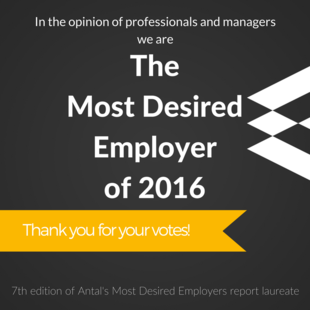 The Most Desired Employer of 2016