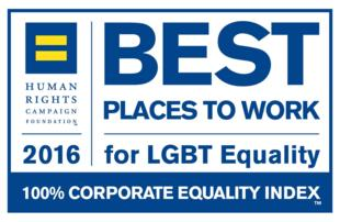 Best Places To Work for LGBT Equality 2016