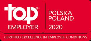 Tytuł Top Employer 2020