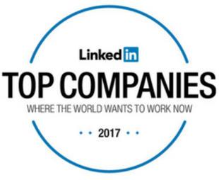 Znaleźliśmy się w gronie 25 międzynarodowych firm, które według portalu LinkedIn przyciągają i zatrzymują najbardziej utalentowanych pracowników.