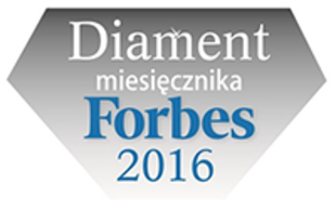 """Diamond of Forbes"" award for the fastest developing companies"