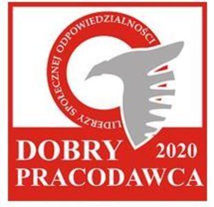 DOBRY PRACODAWCA: Castorama otrzymała tytuł Dobrego Pracodawcy 2020. Nagroda jest przyznawana przez Kapitułę Ogólnopolskiego Programu Liderzy Społecznej Odpowiedzialności, działającą pod patronatem Instytutu Filozofii i Socjologii Polskiej Akademii Nauk.