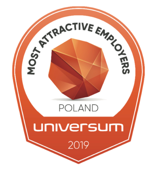 Universum - Most Atractive Employers Poland 2019, #1 natural sciences students