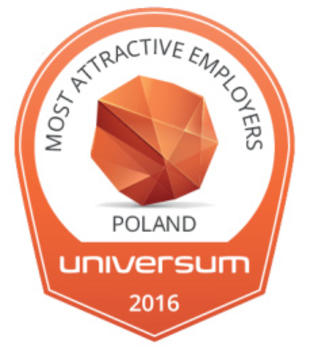 Most Attractive Employers in Poland Universum 2016