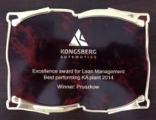 Lean Management Best performing KA plant 2014