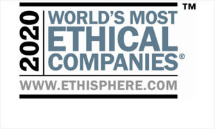 Ethisphere 2020 World's Most Ehtical companies