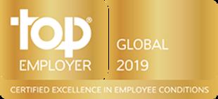 TOP EMPLOYER GLOBAL 2019