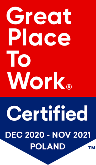 Great Place to Work 2020 - 2021