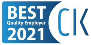 Best Quality Emloyer: Już po raz trzeci otrzymaliśmy tytuł Best Quality Employer. Nagroda ta docenia pracodawców, którzy zapewniają przyjazne warunki pracy, pielęgnują kulturę organizacyjną i dobrą atmosferę w pracy.