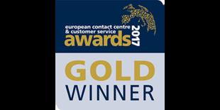 Pierwsze miejscew międzynarodowym konkursie ECCCSA (European Contact Centre & Customer Service Awards) w kategorii Pracodawca Roku – Najlepsze Miejsce Pracy (Employer of the Year – Great Place to Work)