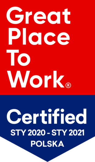 Nagroda Great place to work 2020-2021