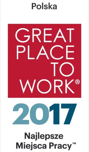 Best Places to Work Poland 2017