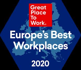 2020 - Best Workplaces Regional Europe