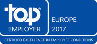 TOP EMPLOYER EUROPE 2017
