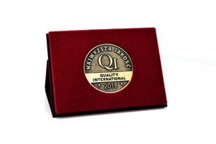 Najwyższa Jakość Quality International - nagroda za skuteczne metody zarządzania jakością