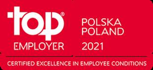 TOP EMPLOYER POLSKA 2021