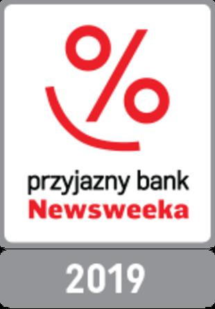 """Głównym wyznacznikiem naszych działań jest szeroka rozumiana jakość oraz dostarczanie Klientom jak najlepszych rozwiązań. Nasza praca jest doceniana - Getin Bank zajął 2. miejsce w kategorii """"Bankowość Mobilna"""" w rankingu Przyjazny Bank Newsweeka 2019, dostępnym na newsweek.pl"""