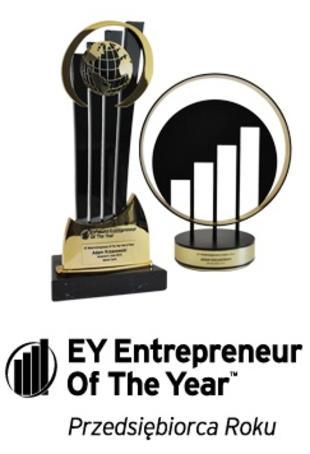 EY Przedsiębiorca Roku 2014 - tytuł dla Adama Krzanowskiego, prezesa Grupy Nowy Styl przyznany przez firmę doradczą EY.