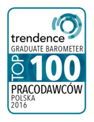 Top 100 Pracodawców Polska 2016