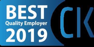 Codziennie wspólnie budujemy angażujące środowisko pracy. W 2019 roku otrzymaliśmy tytuł Best Quality Employer przyznawany pracodawcom, którzy przestrzegają dobrych praktyk w polityce zatrudnienia, efektywnie zarządzają zasobami ludzkimi oraz pielęgnują kulturę organizacyjną i dobrą atmosferę wewnątrz firmy.