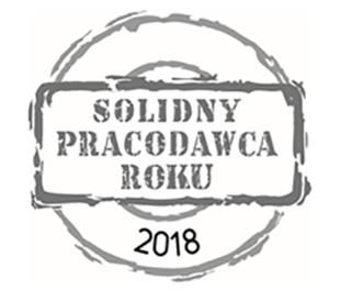 Sonoco Poland - Packaging Services za sumienność, profesjonalizm i przejrzystość w prowadzonych działaniach oraz promowanie dobrych praktyk na rynku pracy, otrzymał tytuł Solidny Pracodawca Roku 2018.