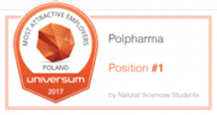 Universum - Most Atractive Employers Poland 2017, #1 natural sciences students