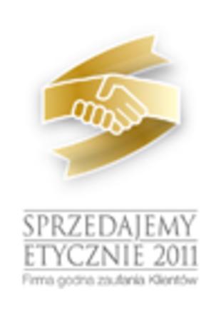 SPRZEDAJEMY ETYCZNIE 2011 - Firma godna zaufania Klientów