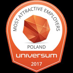 Od kilku lat niezmiennie znajdujemy się na topowych miejscach w rankingu Most Attractive Employers według badania Universum w kategorii Medycyna i Farmacja. Otrzymaliśmy także wyróżnienie Najlepszy Pracodawca Gazety Finansowej.