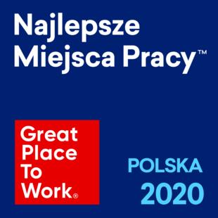 2020 – 3 miejsce w rankingu Najlepszych Pracodawców w Polsce
