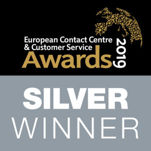 ECCCSA Awards 2019 - Best Pan-European Contact Centre - TTEC Europe; Silver Award