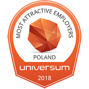 Universum - Most Atractive Employers Poland 2018, #1 natural sciences students