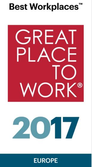 Best Multinational Workplace in Europe