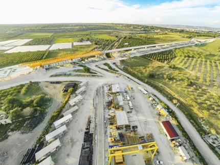 Autostrada Syrakuzy-Gela, Sycylia, Włochy