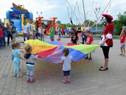 Kolorowy i pełen atrakcji Dzień Dziecka dla dzieci naszych pracowników