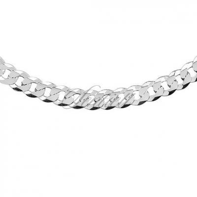 Pancerka męska diamentowana płaska pr. 925 ø 0180 waga od 30,6g