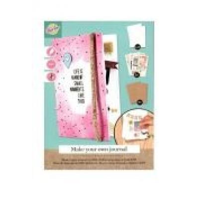 Notatnik diy różowy stnux