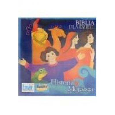 Biblia dla dzieci. historia mojżesza audiobook