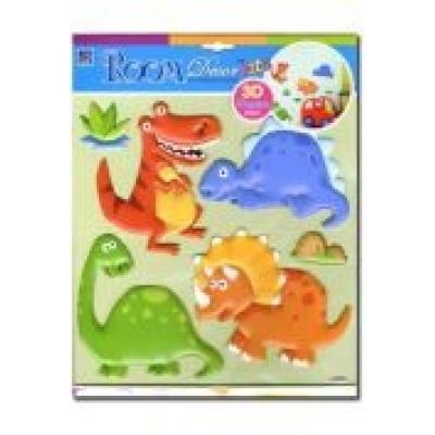 Dekoracja ścienna. dinozaury