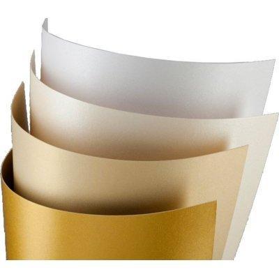 Papier ARGO Karton ozdobny Iceland A4 Diamentowa Biel
