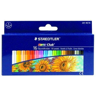 Pastele olejne STAEDTLER Noris Club 8 mm 16 kolorów
