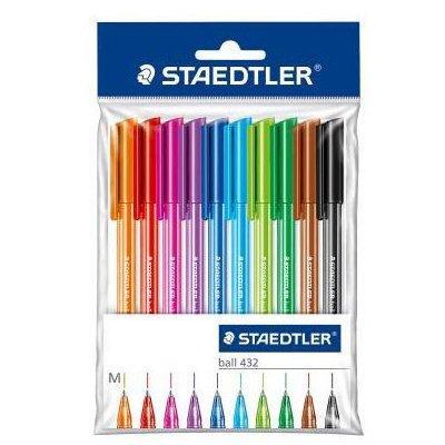 Zestaw STAEDTLER 10 kolorowych długopisów