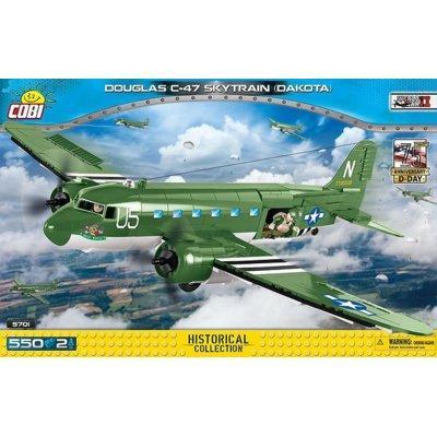 Klocki COBI Historical Collection: World War II - Douglas C-47 Skytrain (Dakota) D-Day Edition