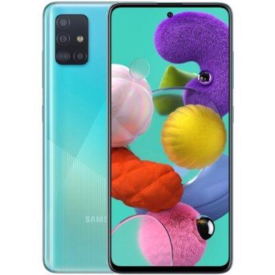 Smartfon SAMSUNG Galaxy A51 NIebieski SM-A515FZBVEUE