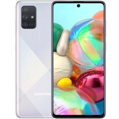 Smartfon SAMSUNG Galaxy A71 Srebrny SM-A715FZSUXEO