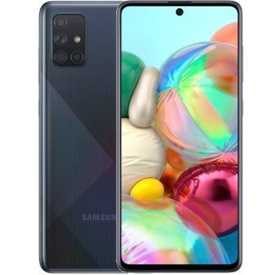 Smartfon SAMSUNG Galaxy A71 Czarny SM-A715FZKUXEO